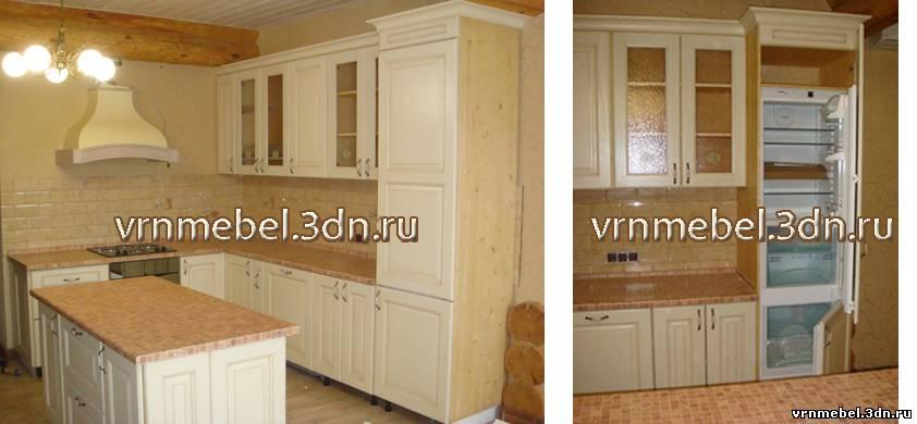 Кухонный гарнитур из мебельных щитов своими руками 94