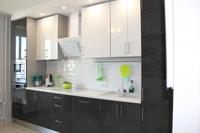 Кухни дизайн с вытяжкой